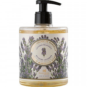 Liquid Marseille Soap Relaxing Lavender 16.9 fl.oz./500ml