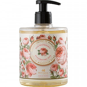 Liquid Marseille Soap Rejuvenating Rose 16.9 fl.oz./500ml
