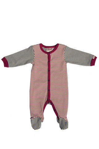 Sailor Stripe Footie
