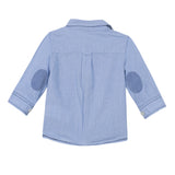 Chambray Nautical Button Front Shirt