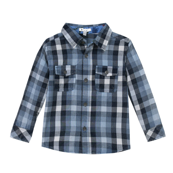Lightweight Cotton Button-down Shirt