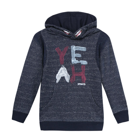 HEATHER YEAH FLEECE HOODIE