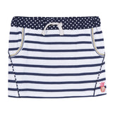 NAUTICAL CHIC STRIPE MINI SKIRT