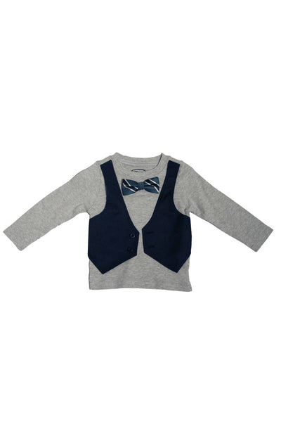 Preppy Dude Vested T-Shirt