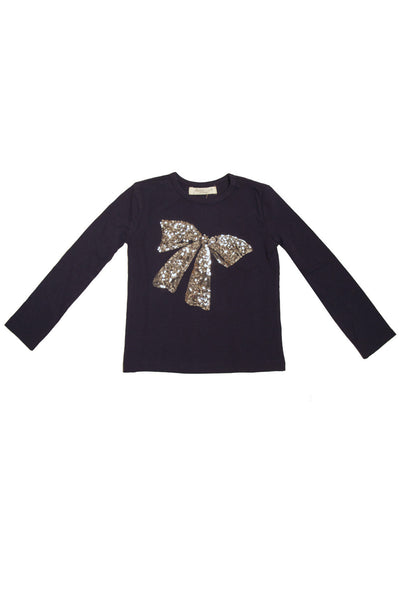 Sequin Bow T-Shirt