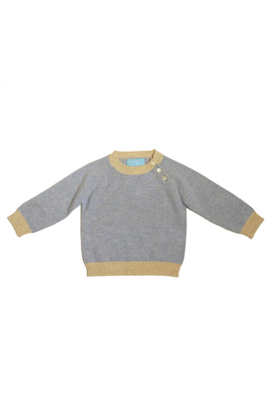 Star Patch Cashmere Sweater