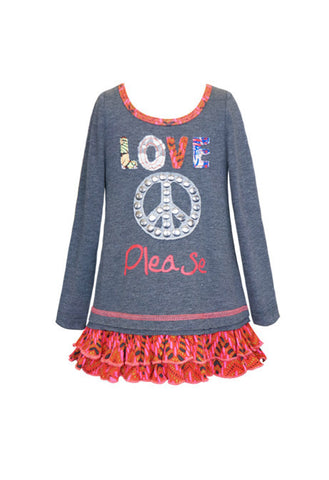 Love and Peace Please Tunic