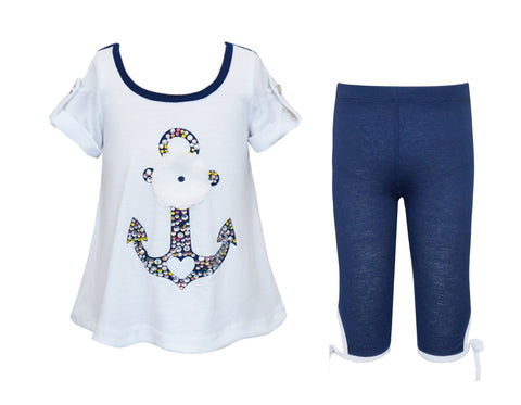 Anchor Tunic & Capri Set