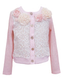 Vintage Lace & Flowers Cardigan