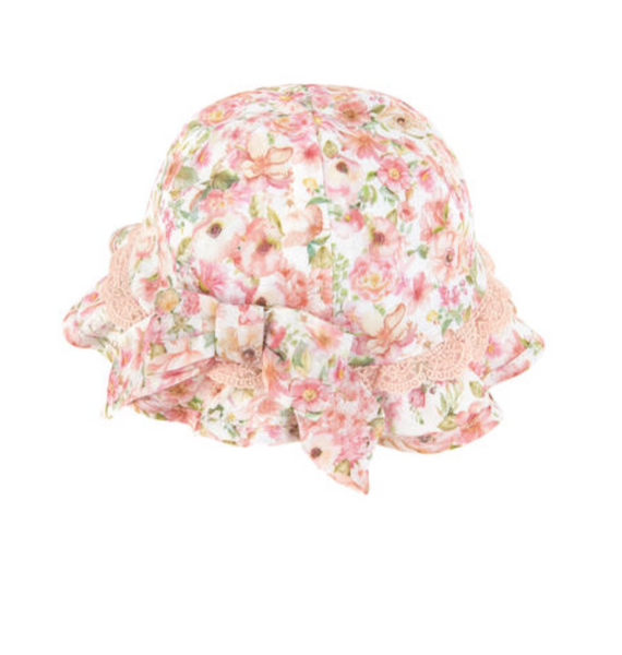 Romantic Sweet Flowers SunHat