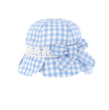 Gingham Scalloped Sunhat