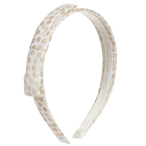 JAQUARD DOT HEADBAND