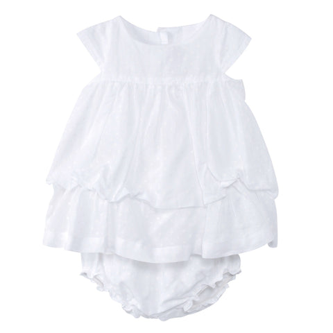 Voile Multi Tiered Dress and Bloomer