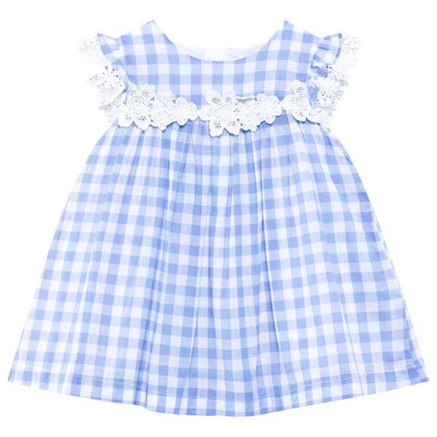 Gingham Eylett Dress