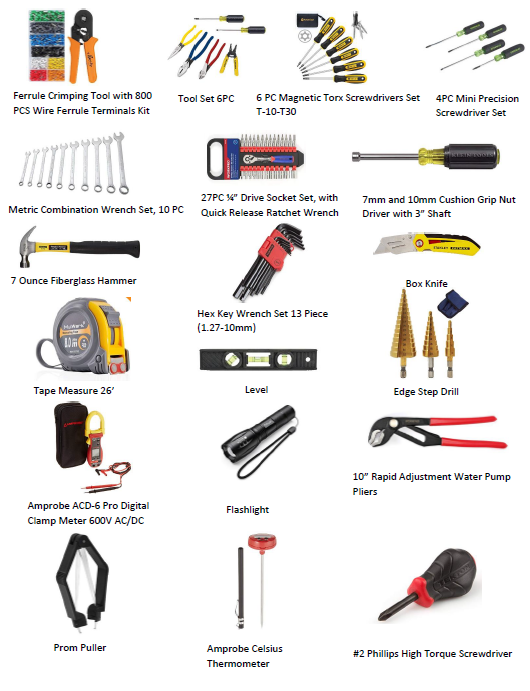 Calf Star Service Technician Tool Kit