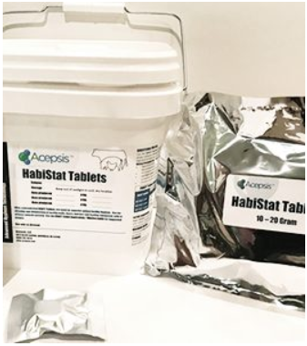 Habistat Disinfectant - The Ultimate Calf Hygiene Protection - Tablet Form