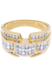 Bague homme diamant Pinky | 1,08 ct | 8,99 grammes