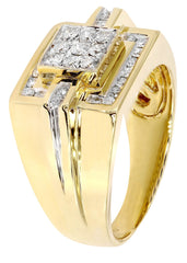Bague homme diamant Pinky | 0,64 ct | 11,07 grammes