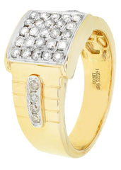 Bague homme diamant Pinky | 0,88 ct | 9,59 grammes