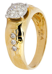 Bague homme diamant Pinky | 0,75 ct | 6,62 grammes