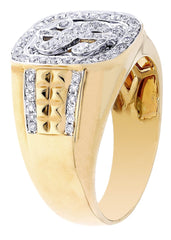 Bague homme diamant Pinky | 0,65 ct | 9,88 grammes