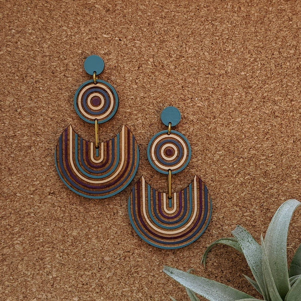 Striped Fiesta Earrings