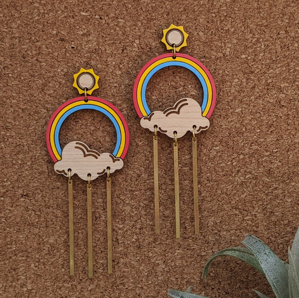 Rays and Rainbows Earrings