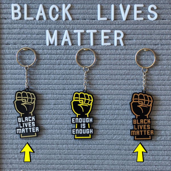 Black Lives Matter Keychain