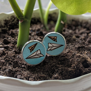 Paper Airplanes Cufflinks