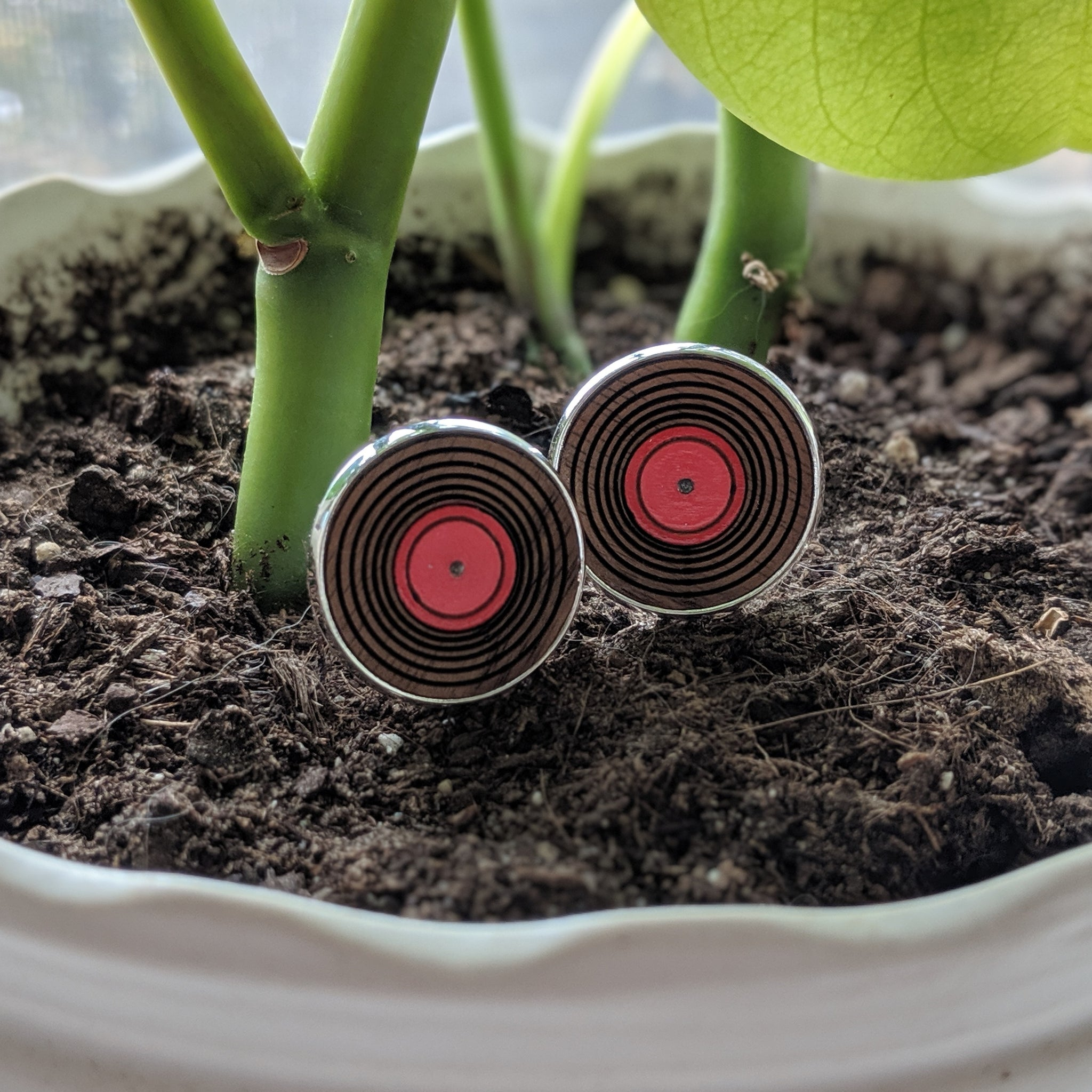 Vinyl Records Cufflinks