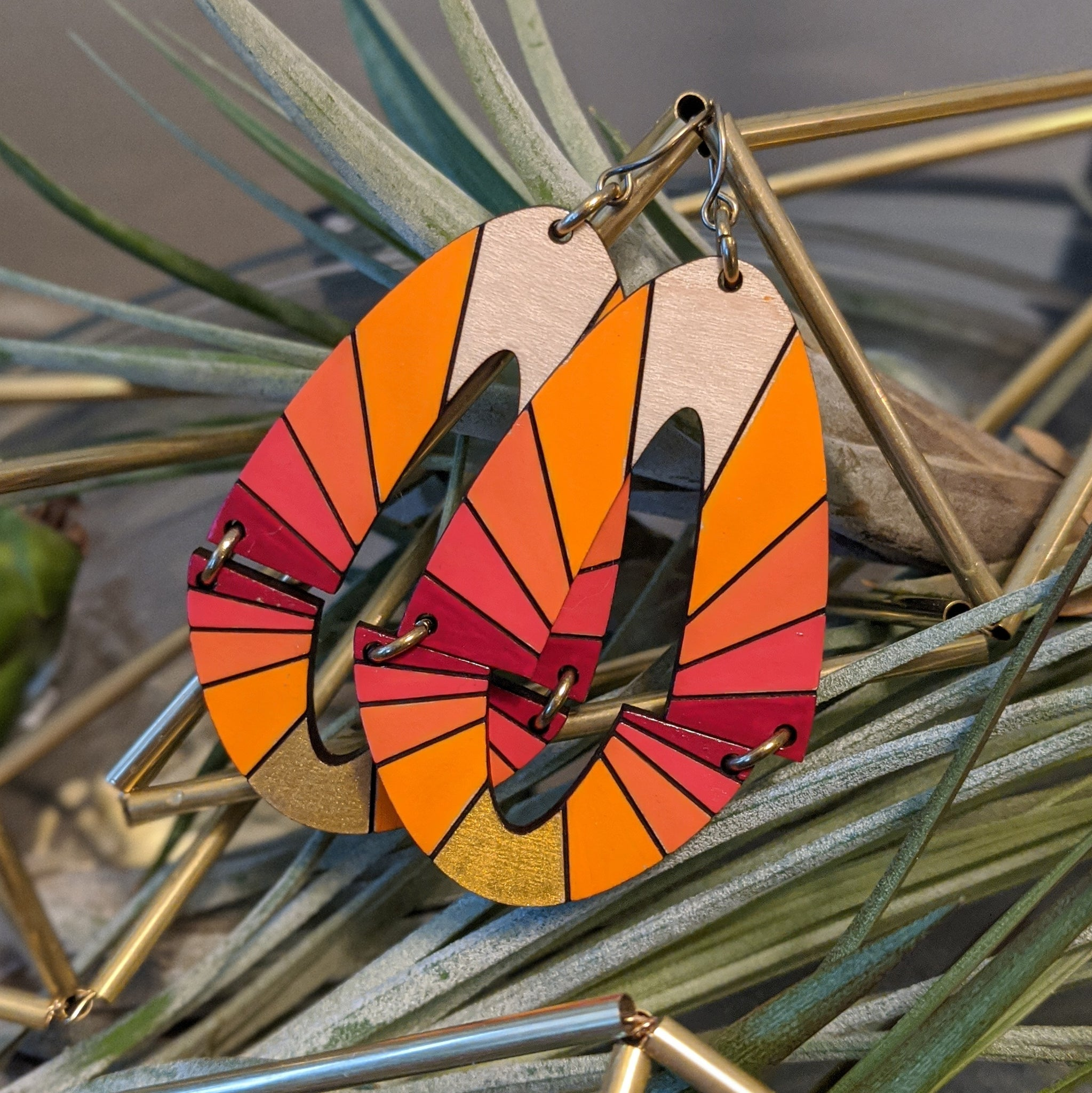 Color Burst Earrings
