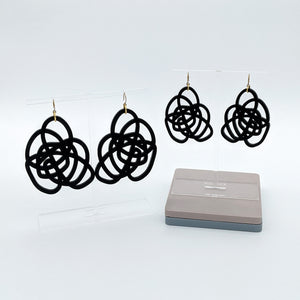 Squiggles Earrings - Two Sizes