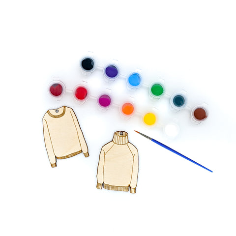 Paint Your Own Ugly Sweater Kit