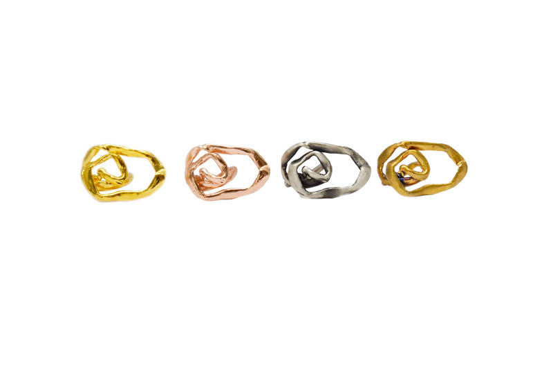 gaia ring. unisex. various colors.