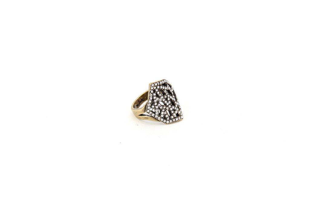 Geo Diamond Cocktail Ring