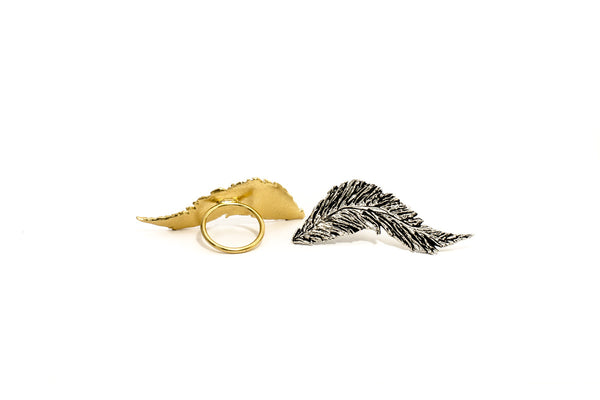 Conjure Feather Ring