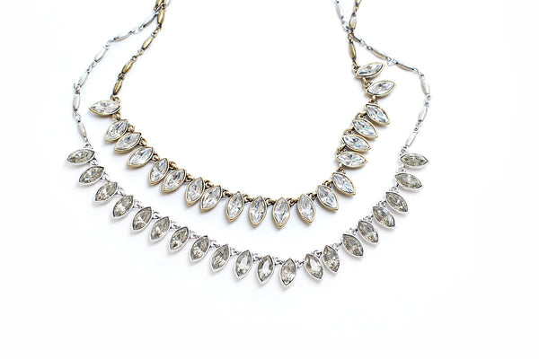 Marquis Crystal Necklace
