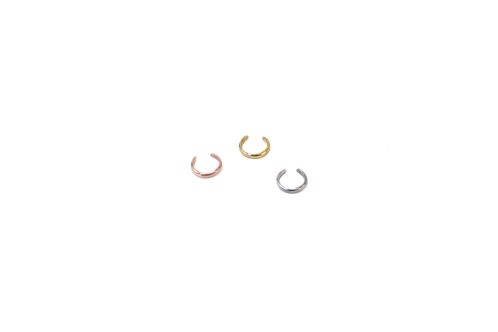 Tiny Ear Cuff. Various Colors.