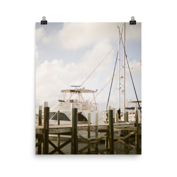 Ship... Or Is This A Yacht? Photo Art Print