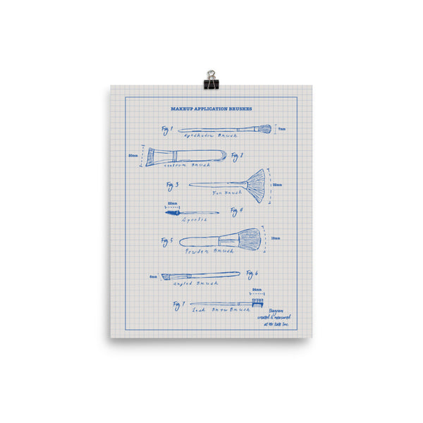 Makeup Brush Blueprint