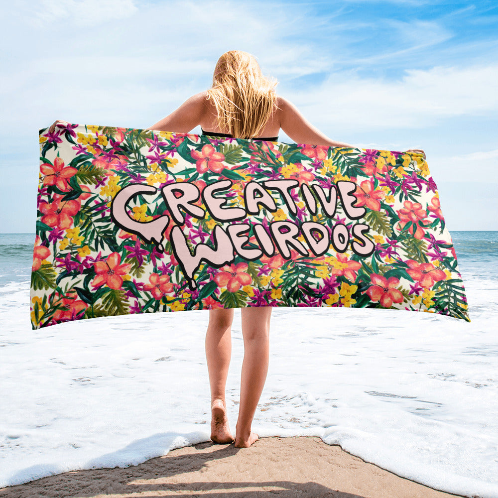 Creative Weirdos Towel