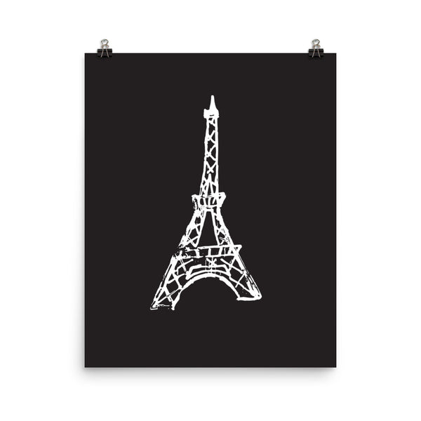 Eiffel Tower Print