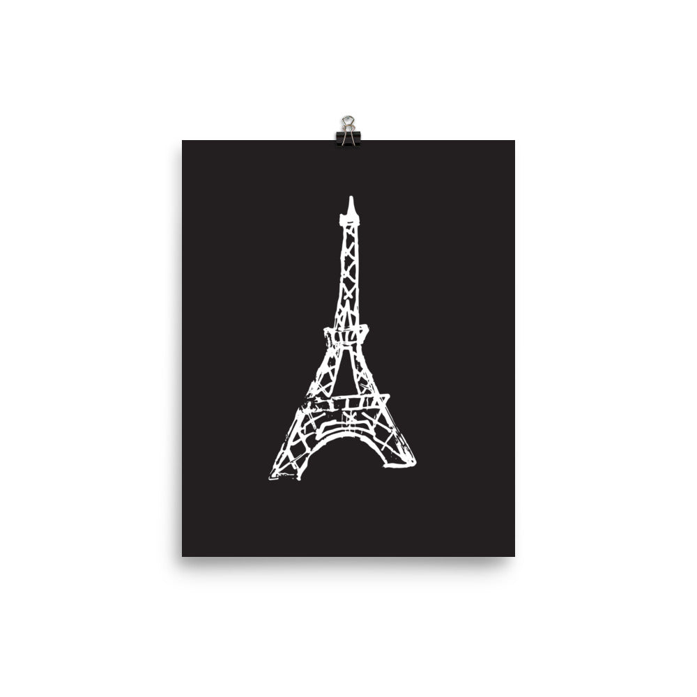 photo relating to Printable Pictures of the Eiffel Tower named Eiffel Tower Print Mr. Kate
