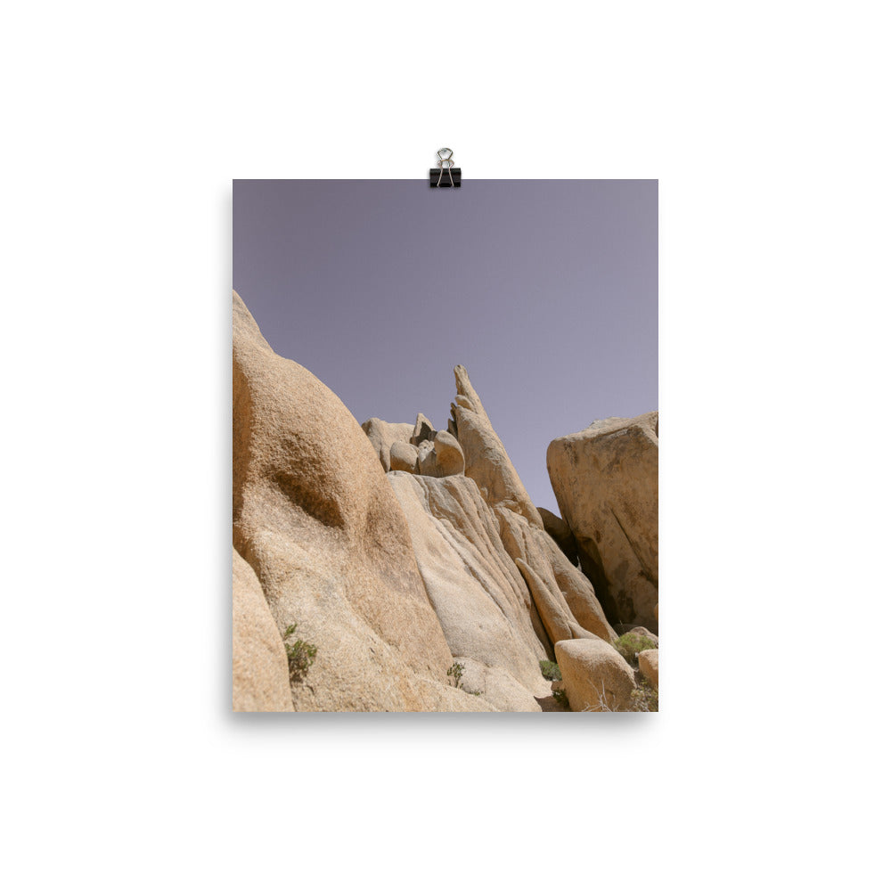 Beautiful Boulder Photo Art Print