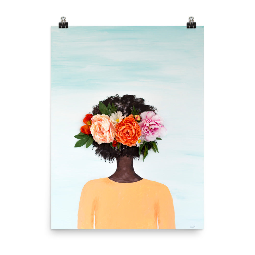 #BlackGirlMagic Painting Art Print