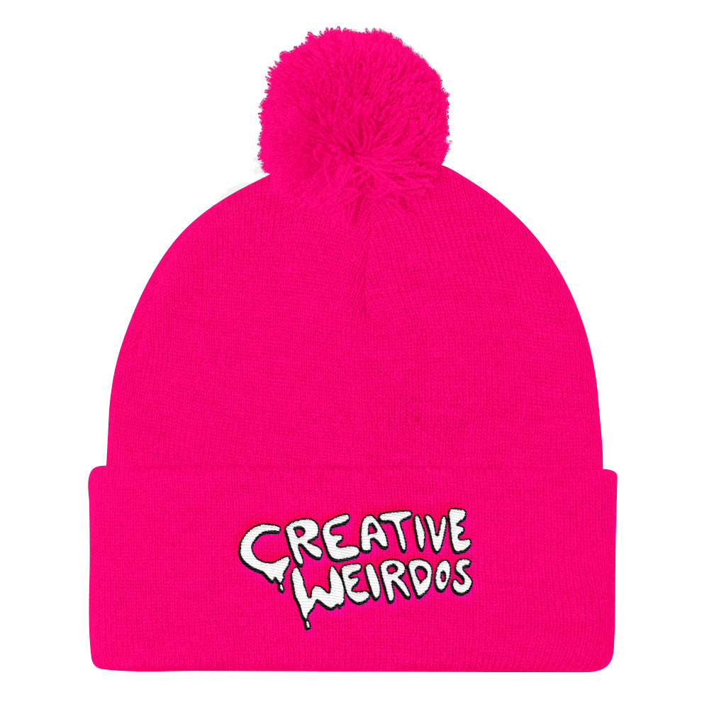 Creative Weirdos Pom Pom Knit Cap
