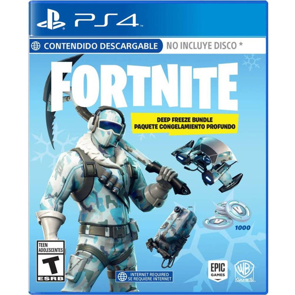 Fortnite: Deep Freeze Bundle PlayStation 4