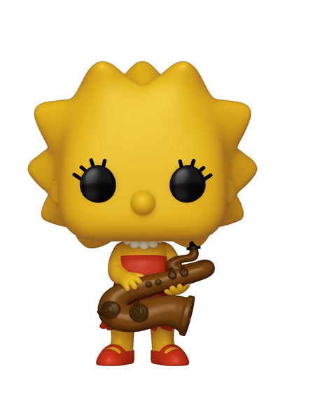 Funko Pop Simpsons Lisa-Saxophone #497