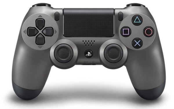 Control DualShock 4 Steel Black.- PlayStation 4