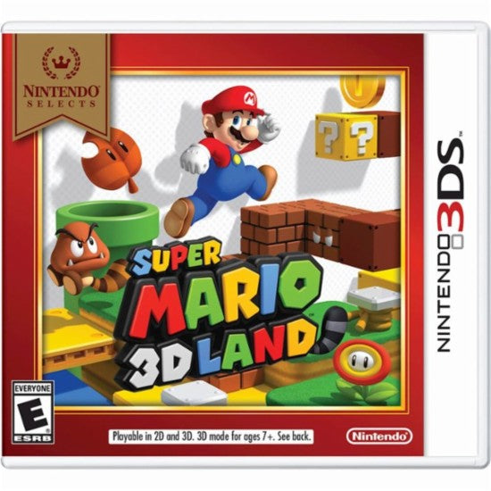 Super Mario 3D Land.- 3DS Nintendo